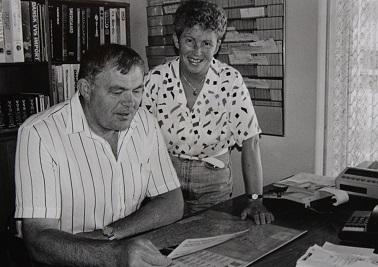 Det var Jan Larsens forældre, Bodil og Kaj Larsen, som grundlagde VVS-virksomheden Kaj Larsen A/S i 1966. De overlod driften til deres søn i 1999.